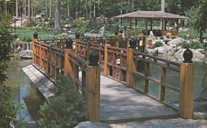 Japanese Gardens, The Zigzagging Accomplishment Bridge Across The Long Life L...