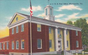 Virginia Martinsville U S Post Office