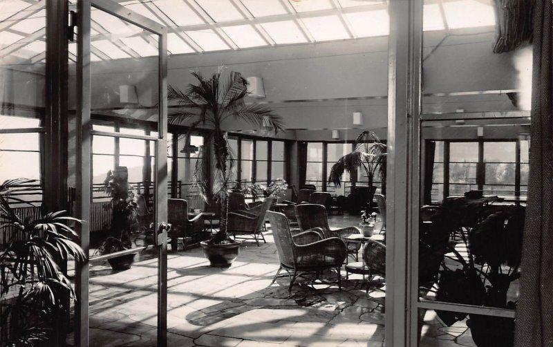 Gohra Hotel, Hakone, Japan, Early Real Photo Postcard, Unused