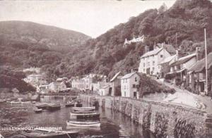 Boats, Lynmouth Harbour (Devon), England, UK, 1900-1910s