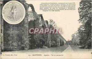 Postcard Old Maintenon Aqueduct Perspective
