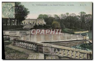 Old Postcard Versailles The Grand Trianon The Horn