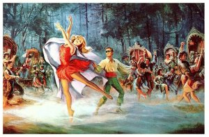 The Dancing Princess, Wonderful World of the Brothers Grimm 1963 Postcard