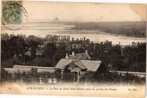 CPA AVRANCHES - La Baie du Mont-St-MICHEL (149777)