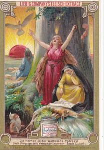 Liebei S0412 Scandinavian Mythology B Die Nornen an der Weltesche Ygdrasy