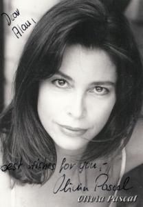Olivia Pascal Of Jess Franco Bloody Moon Horror Film Actress Hand Signed Photo