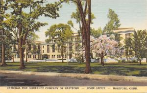 Hartford Connecticut~National Fire Insurance Company~Cherry Blossoms~1943 PC