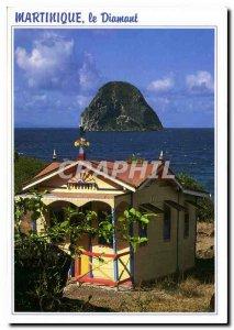 Modern Postcard Martinique Diamond