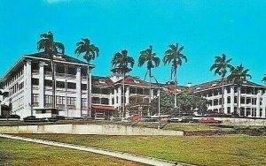 Vintage Postcard Panama Canal Zone Hotel Tivoli Ancon