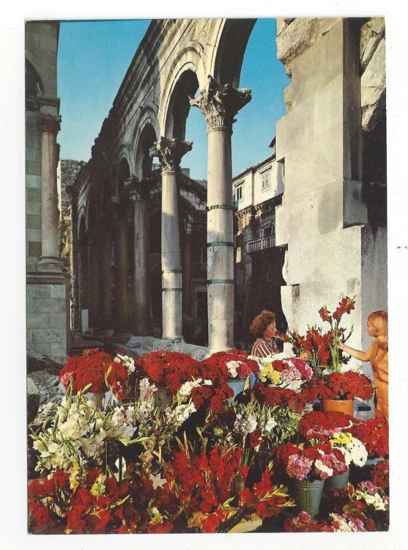 Croatia Split Hotel Peristil Diocletian Palace 4X6 Postcard
