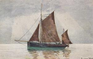 Sailing Vessel ; Seppings Wright #3 , 1900-10s