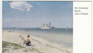 Tanzania; The Swimming Beach, Dar Es Salaam, No 5 PPC By D.E.S. Bookshop, Unused