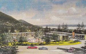Maples Motor Lodge , North Vancouver , B.C. , Canada , 50-60s