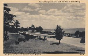 NEWPORT NEWS, Virginia, 1900-1910´s; The Mariners´ Museum, View Of The Jame...