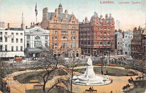 LONDON UNITED KINGDOM UK LEICESTER SQUARE~ELEVATED VIEW~EXCELSIOR ART POSTCARD