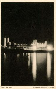 IL - Chicago. 1933 World's Fair-Century of Progress. Electrical Building at N...