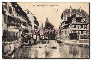 Old Postcard Strasbourg Petite France