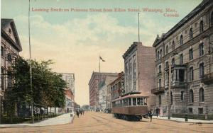 WINNIPEG , Manitoba, Canada , 1900-10s ; Princess Street , South