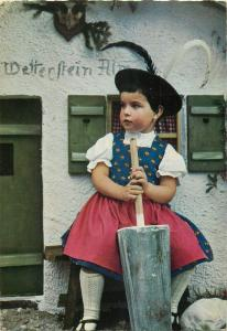 Die kleine Sennerin Germany folk type lovely girl costume