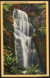 California BIG BASIN Berry Creek Falls - LINEN
