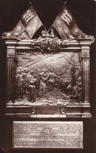 RP: Bristol England Plaque given to HALIFAX , Nova Scotia , 1912