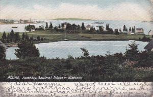 Scenic view,  Boothbay,  Squirrel Island,  Maine,  PU_1905