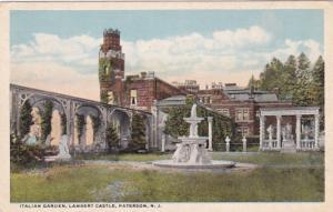 New Jersey Paterson Lambert Castle Italian Garden