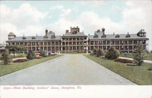 Virginia Hampton Main Building Soldiers' Home