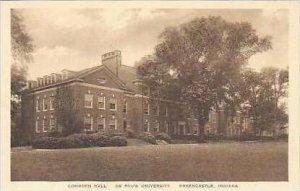 Indiana Greencastle Longden Hall De Pauw University Albertype