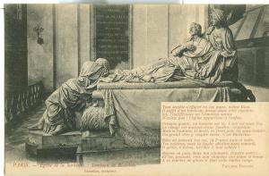 Paris, Eglise de la Sorbonne: Tombeau de Richelieu