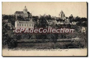 Old Postcard Provins Saint Quiriace And La Tour Cesar Taken At Boulevard Aligre