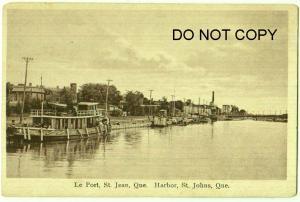 Le Port, Harbor St Jean, Que