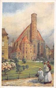 575  Austria Vienna   Minoritenkirche Artist Signed  Hans Gotzinger