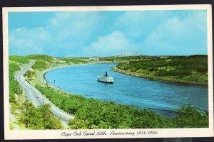 Massachusetts Cape Cod Canal 50th Anniversary 1914-1964 - pm1964 -1950s-1970s