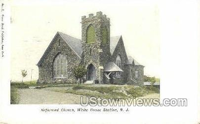 Reformed Church in Whitehouse Station, New Jersey
