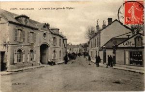 CPA Jouy-La Grande Rue de I'Eglise (128844)