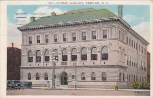 New Jersey Newark Public Library 1928