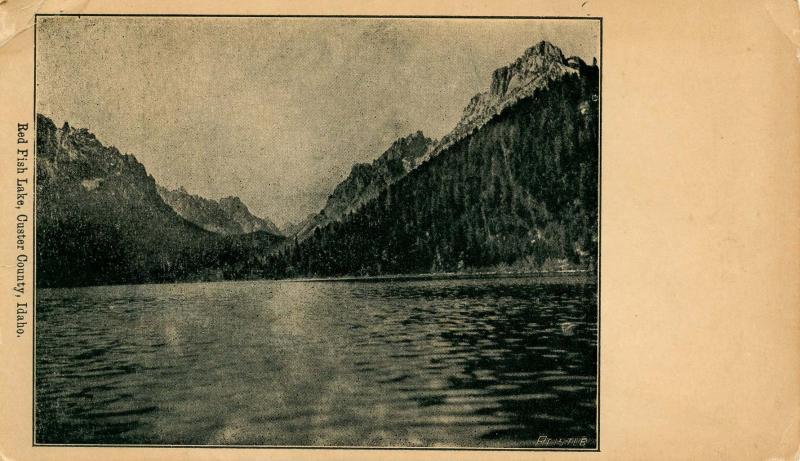 ID - Custer County, Red Fish Lake