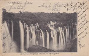 BRAZIL, PU-1907; Duque De Braganca Cascata De Diangundu