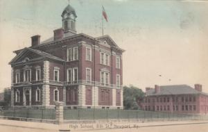 NEWPORT , Kentucky , 1910 ; High School