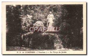 Postcard From Old ND Lights Virgin Garden