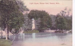 Light House, Palmer Park, DETROIT, Michigan, PU-1914