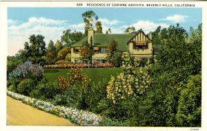 CA - Beverly Hills. Home of Corinne Griffith