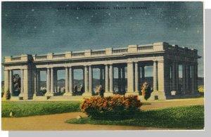 Striking Denver,Colorado/CO Postcard, Cheesman Park, 1943!