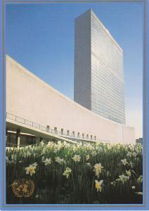United Nations Postal Admin Spring At United Nations Headquarters