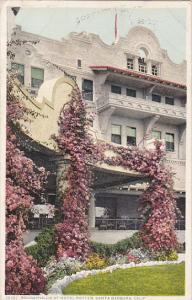 Bouganvillia At Hotel Potter, SANTA BARBARA, California, 1910-1920s