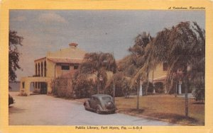 Public Library Fort Myers, Florida