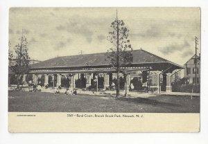 NJ Newark Sand Court Branch Brook Park Vtg Postcard UDB ca 1906 Unused