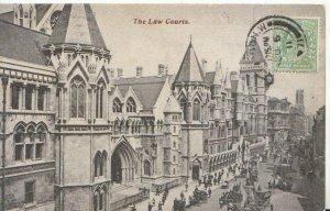 London Postcard - The Law Courts - Ref TZ1052