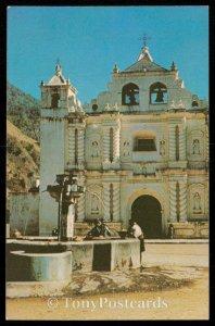 Guatemala - Fountain and Church at Zunil